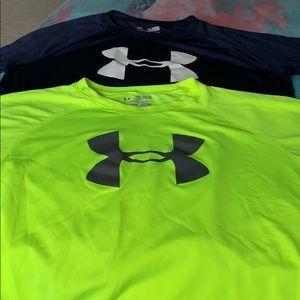Other - 💙Boys Under Armour T-shirt bundle.
